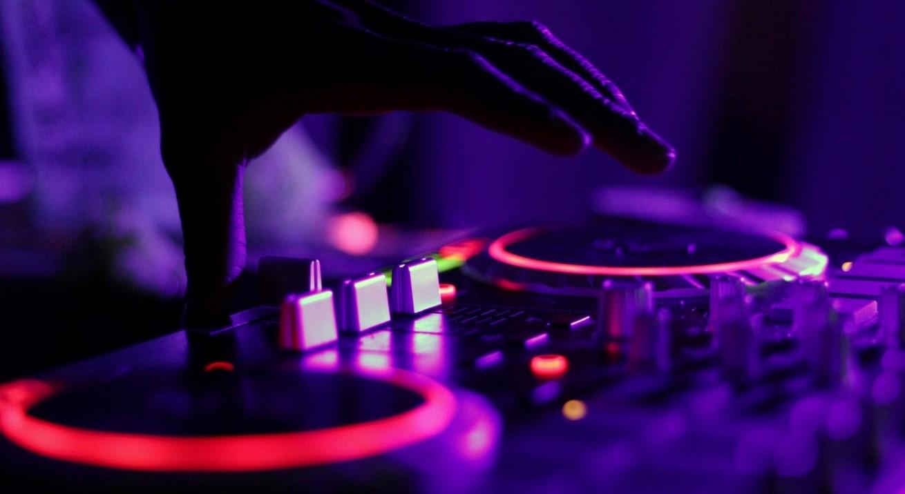 Music Turntable Light Concert Darkness Neon 145322 Pxherecom