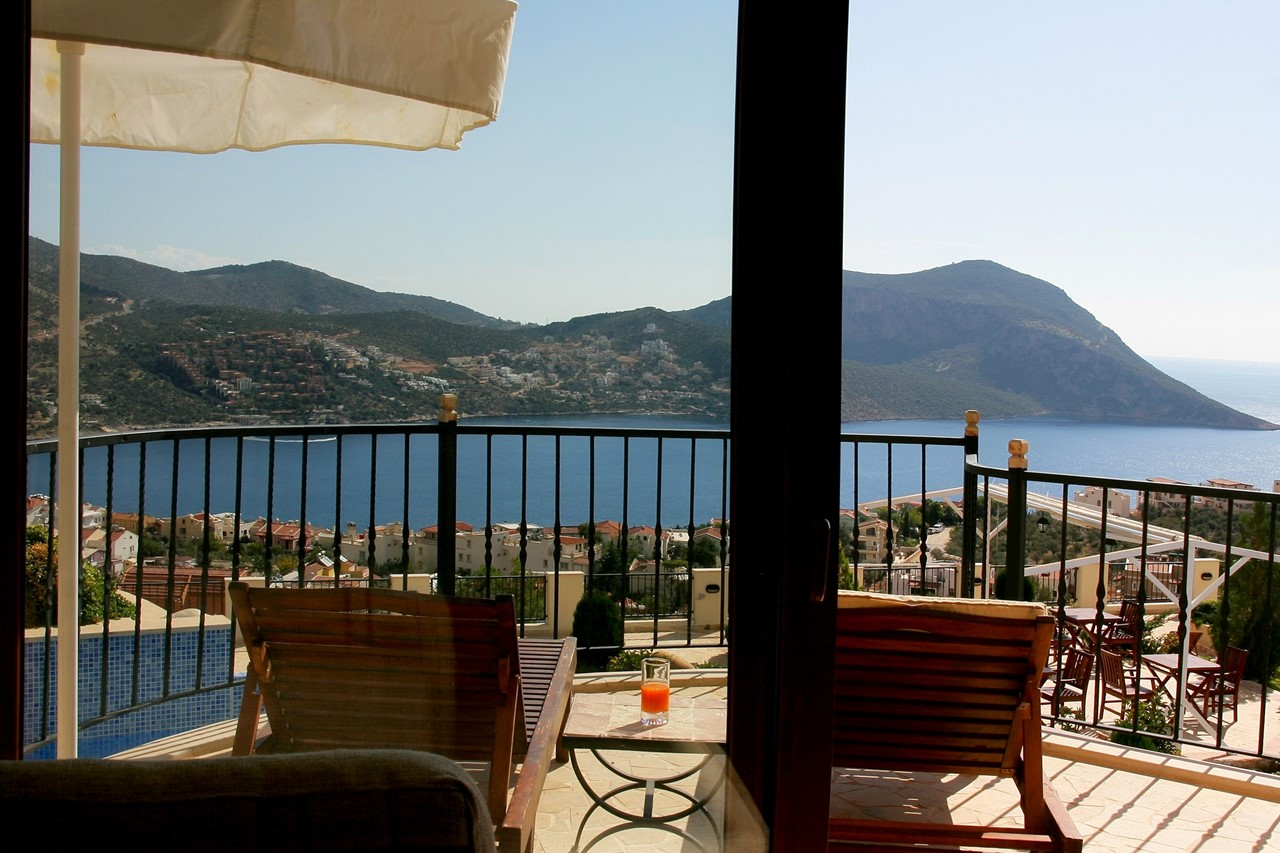View from lounge & private terrace