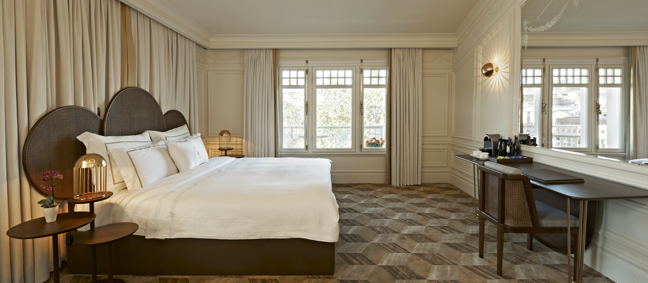 The House Hotel Bosphorus Penthouse Bed Room