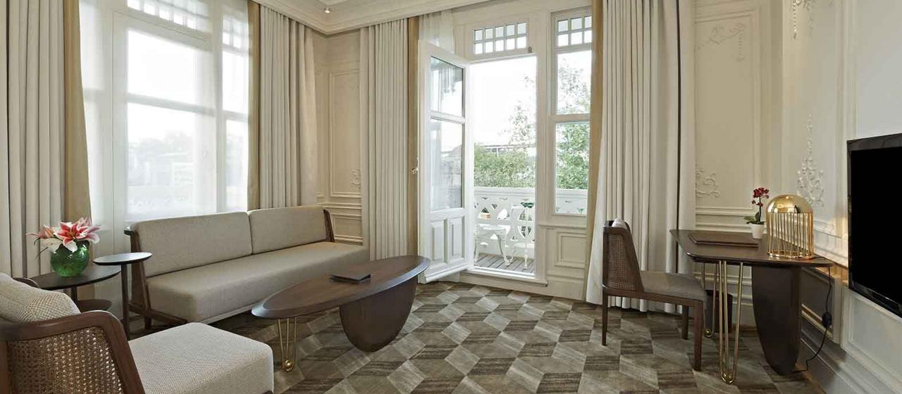 The House Hotel Bosphorus Penthouse Living Room Web