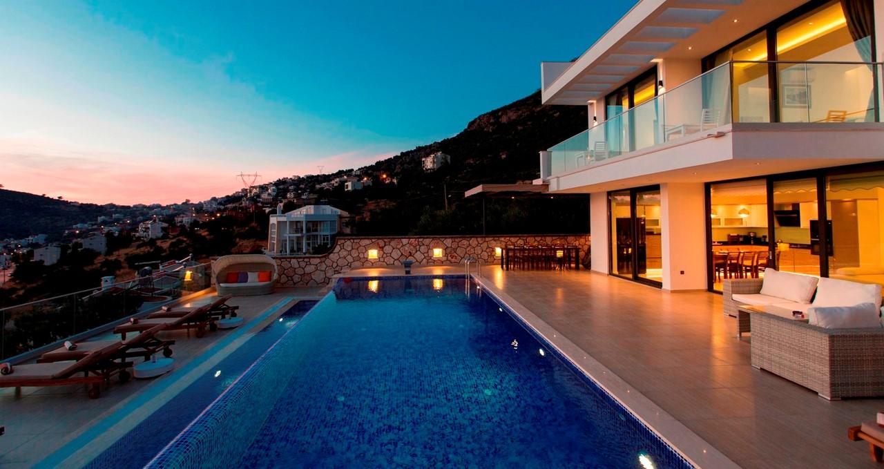 Villa Topcu By Night