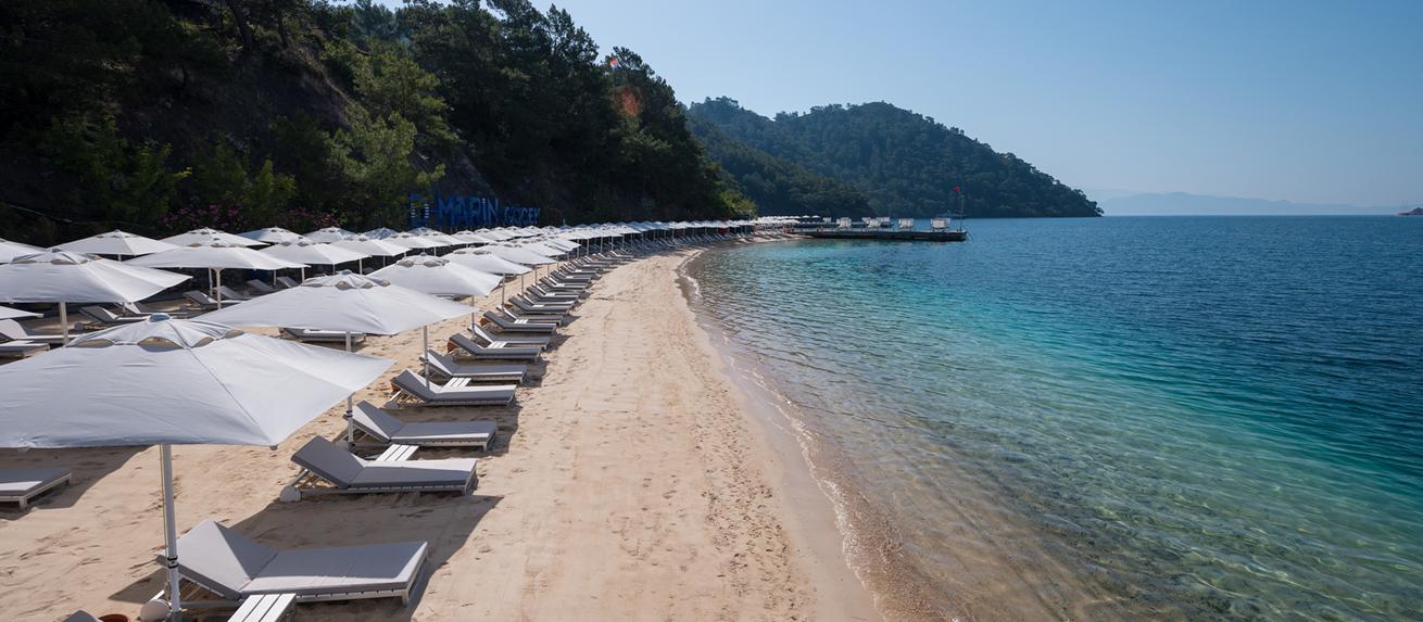 D Resort Gocek Beach From Pier
