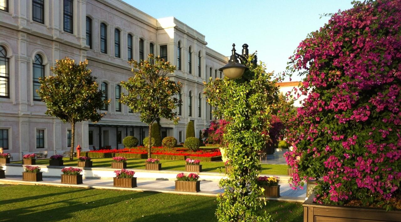 Bosphorous Four Seasons Gardens