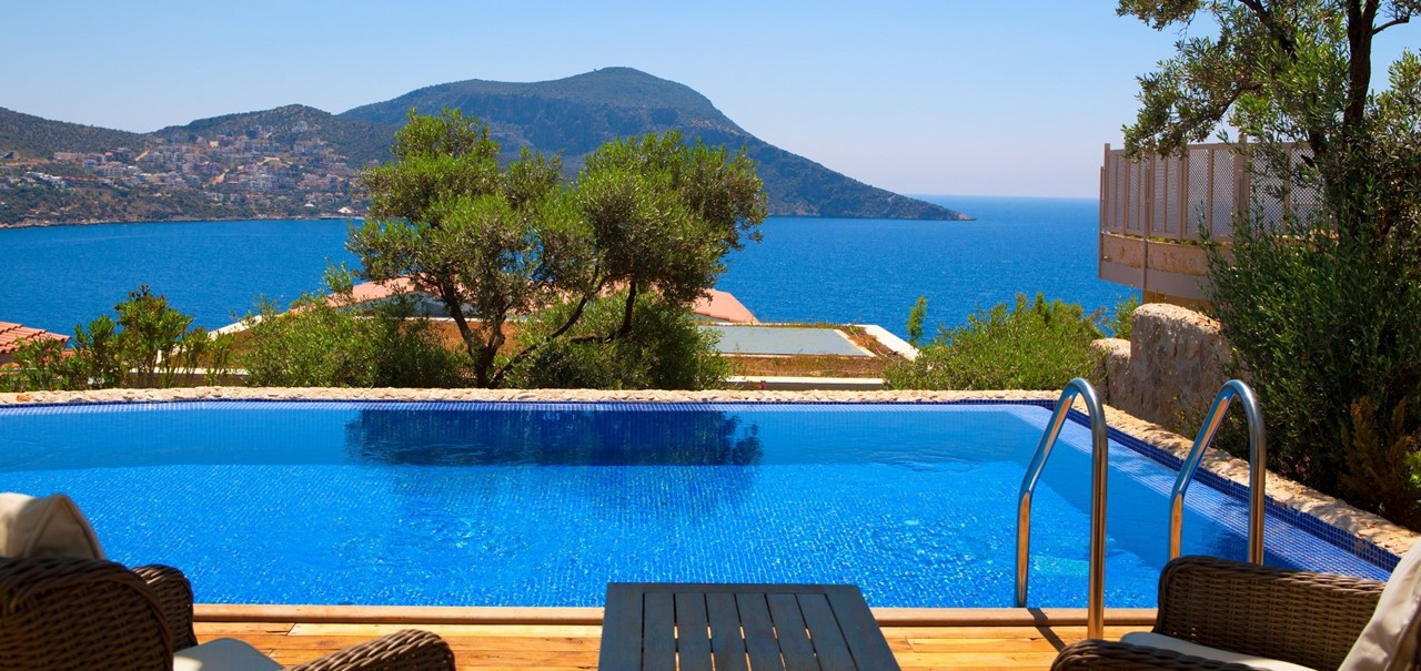 Deluxe Private Pool Rooms At The Asfiya Sea View Hotel In Kalkan The Turquoise Collection