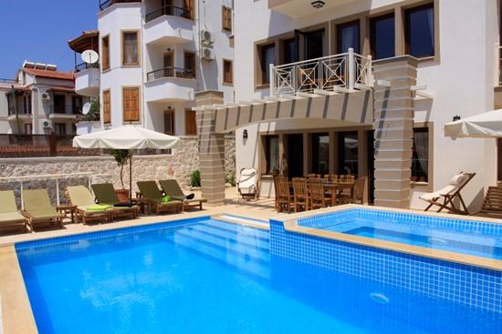 Kalkan Villa Sena with 5 bedrooms