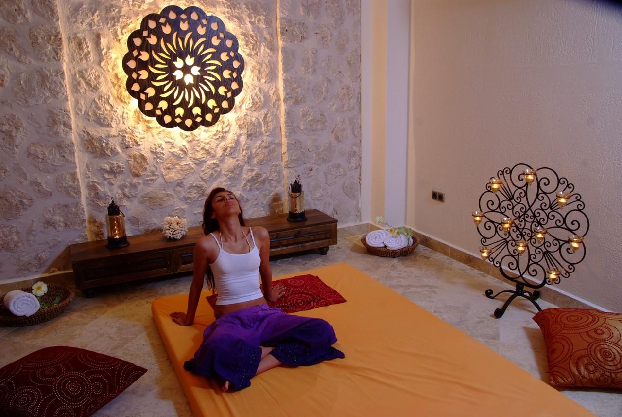 Spa room at The Likya Hotel