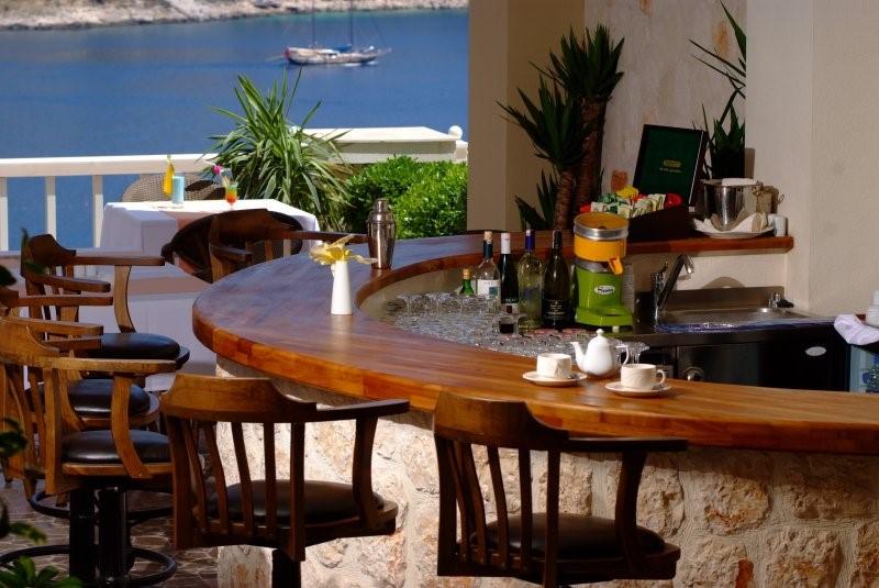 The Likya Hotel poolside bar