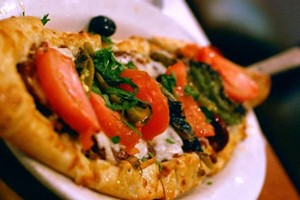 Pide, a Turkish pizza