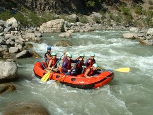 White water rafting near Kalkan