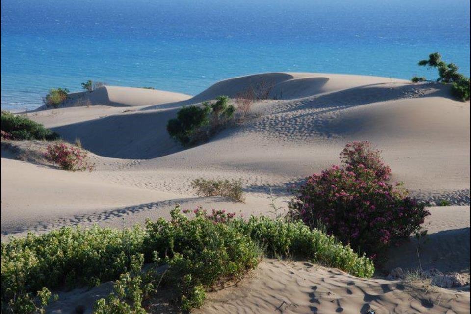 Patara beach, 18km strip of sand