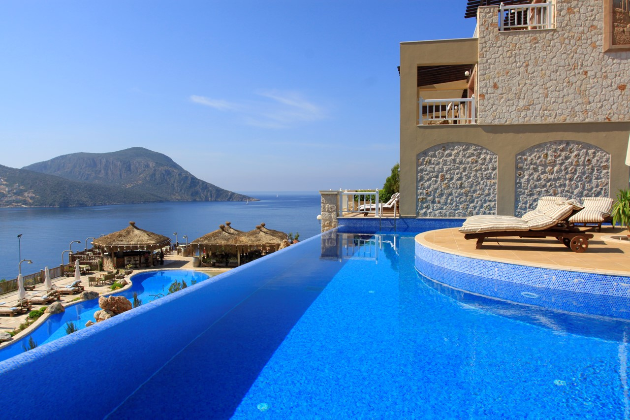 The Likya Hotel offers exceptional accommodation and fantastic sea views