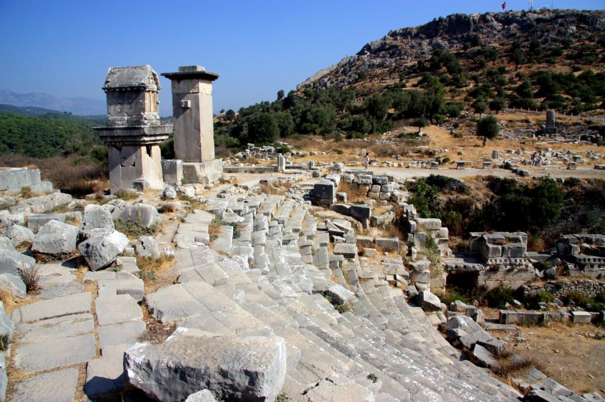 The ruins at Tlos