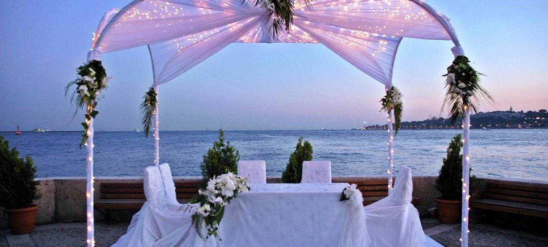 Beach wedding in Turkey
