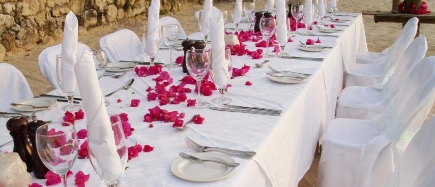 Wedding dining in Turkey