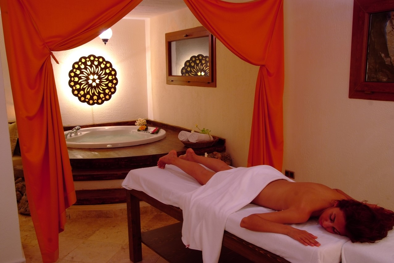 Arrange a massage at the spa