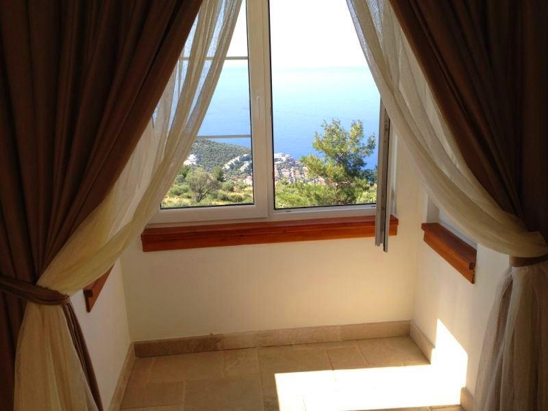 Sea views from master bedroom