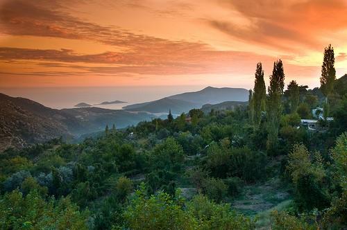 Sunset over Islamlar