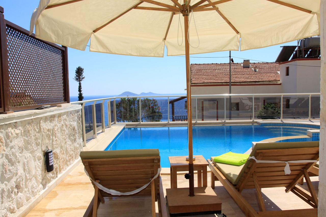 Fully furnished terrace for sunbathing and alfresco dining