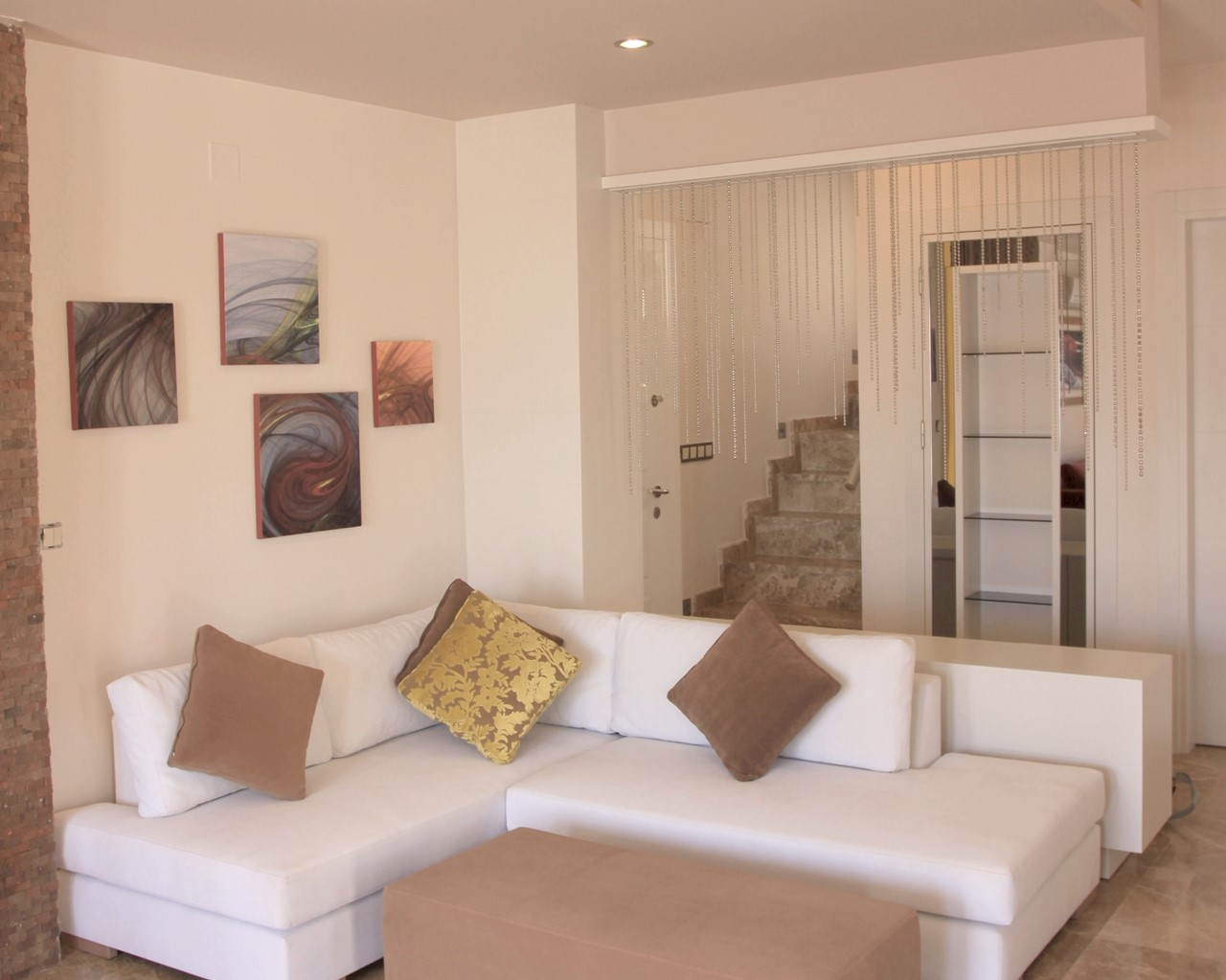 Furnished to a contemporary style