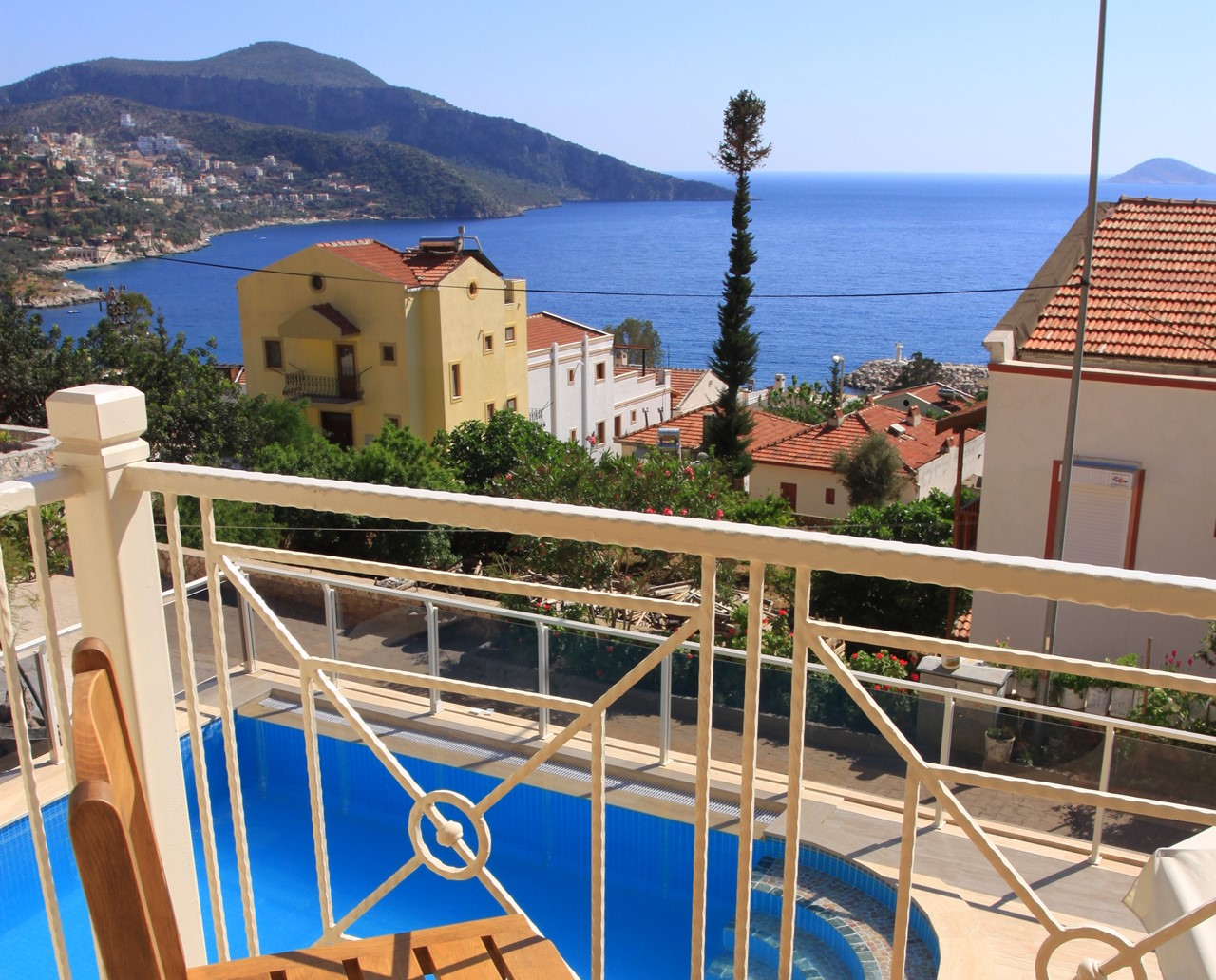 Sea views from Villa Doruk