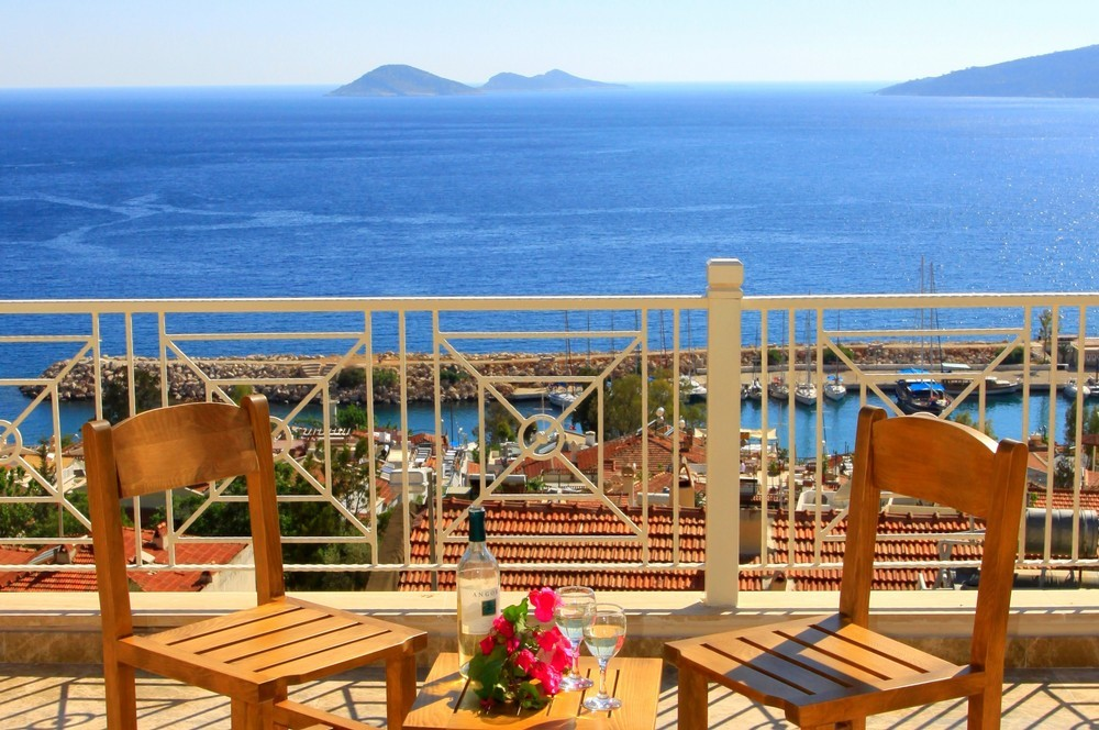 Fantastic sea views from the balconies