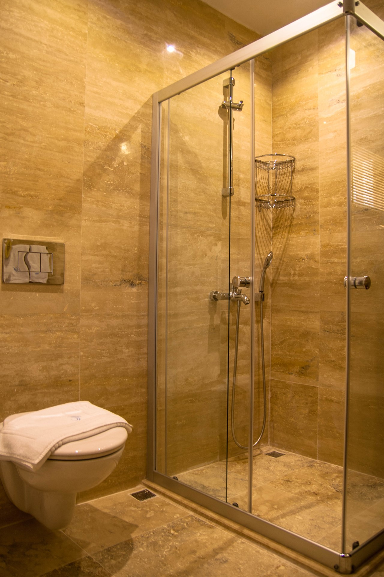 Large walk in showers