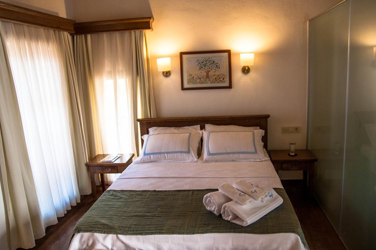 Room 4 at the Courtyard Hotel in Kalkan