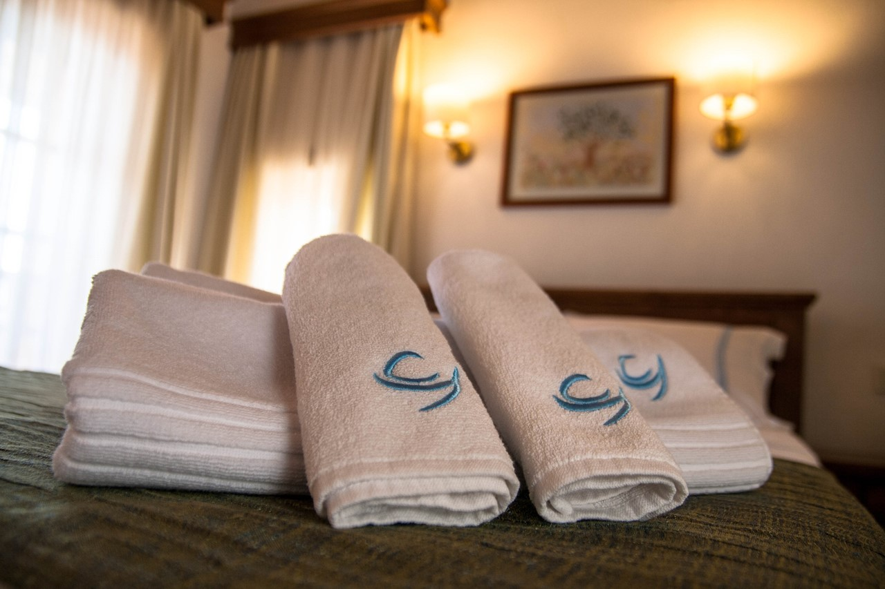 All rooms include linen and towels