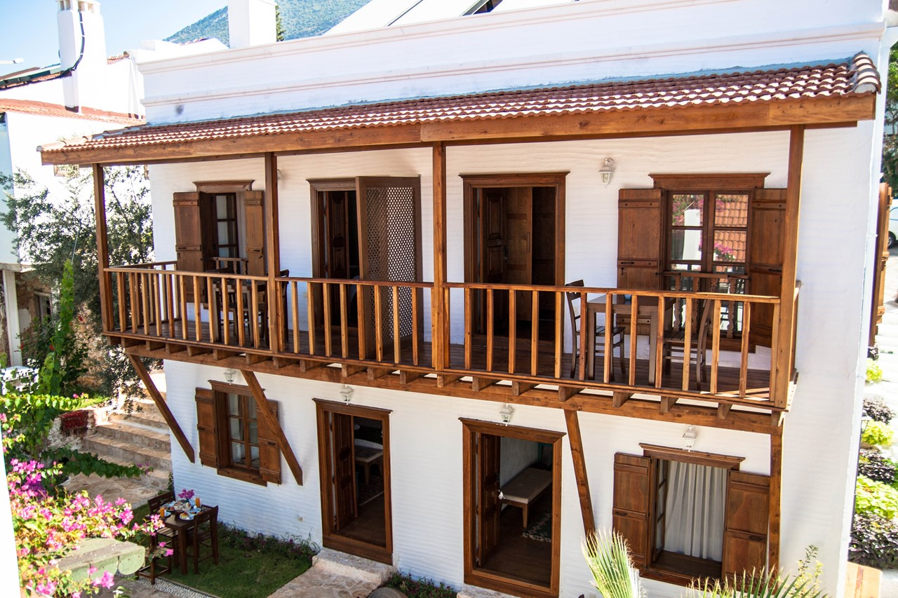 The boutique Courtyard Hotel with 6 en-suite rooms