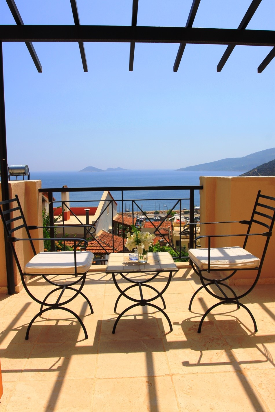 Stunning views over Kalkan's harbour