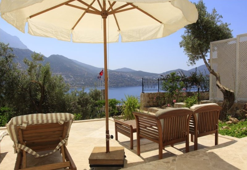 Retreat suite terrace at The Likya Hotel