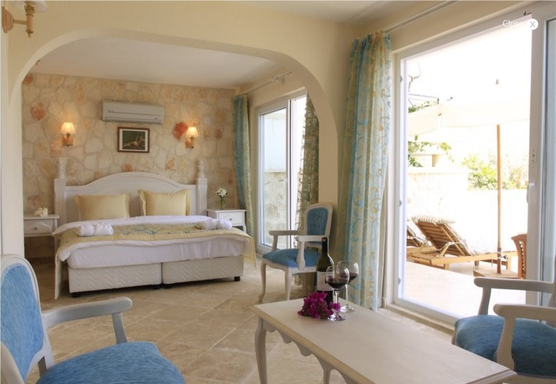 Retreat suite at The Likya Hotel