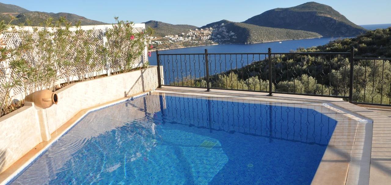4 Bedroom Kalkan Villa With Sea Views Pool Wifi In A