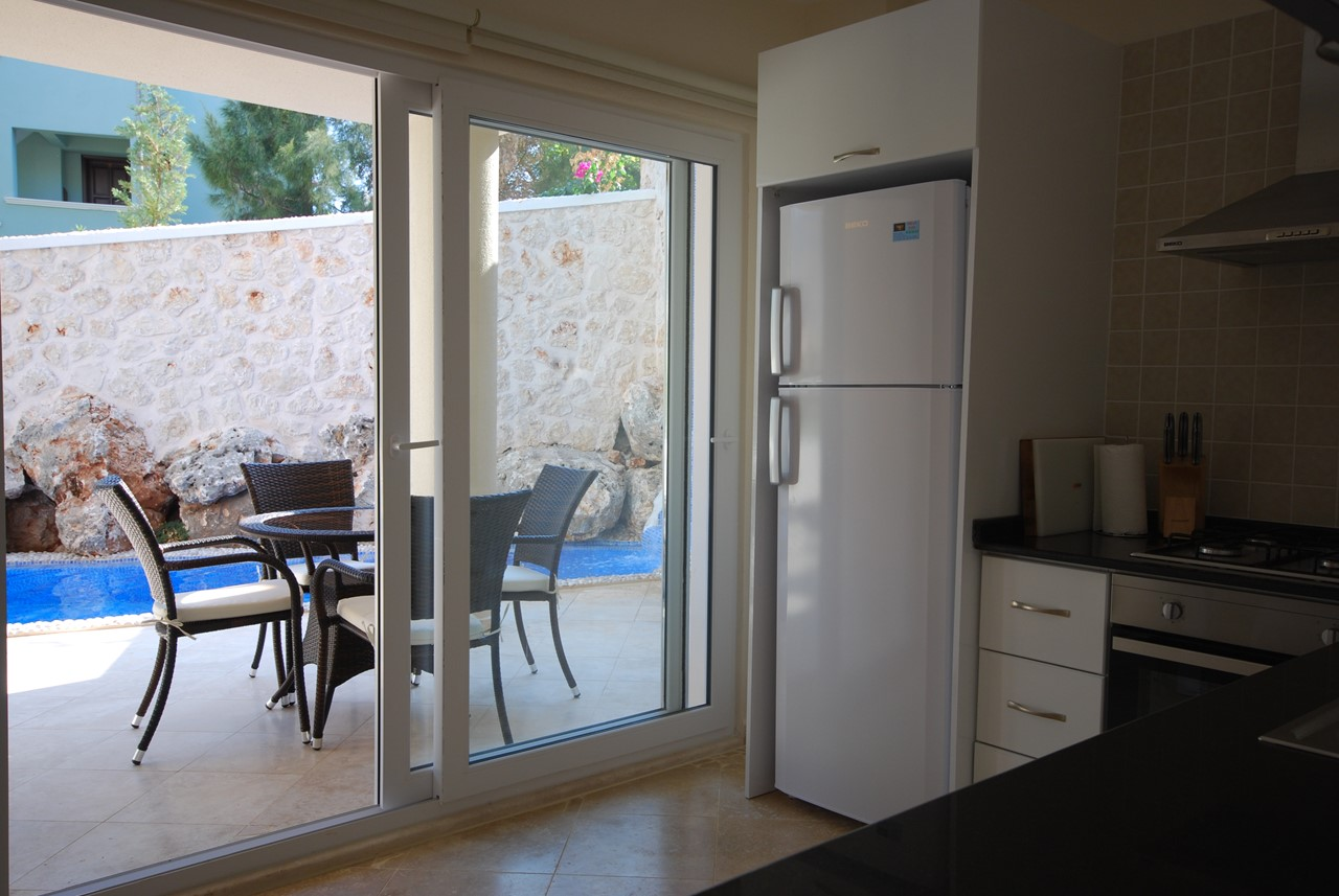 Doors Lead Onto Private Terrace Space