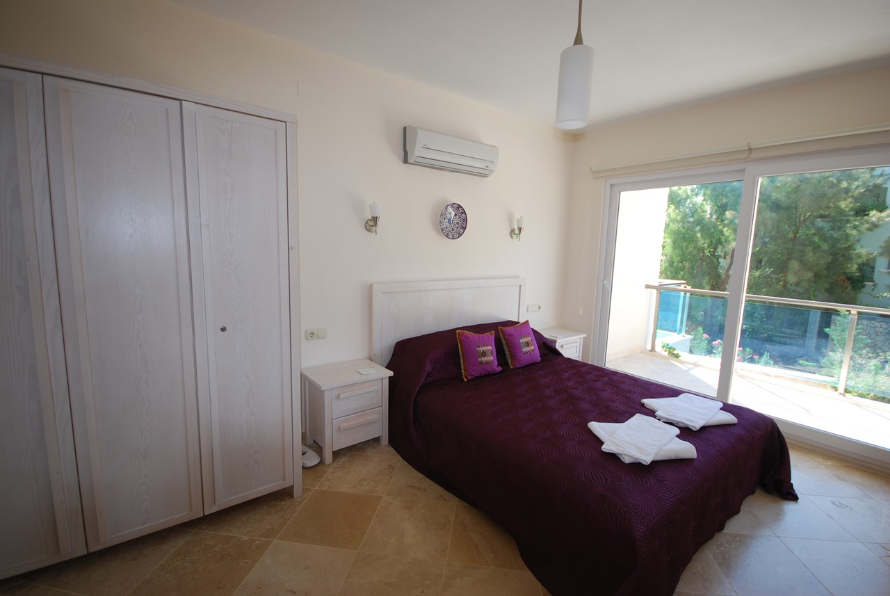 Double Bedroom With Wardrobe Space And Balcony