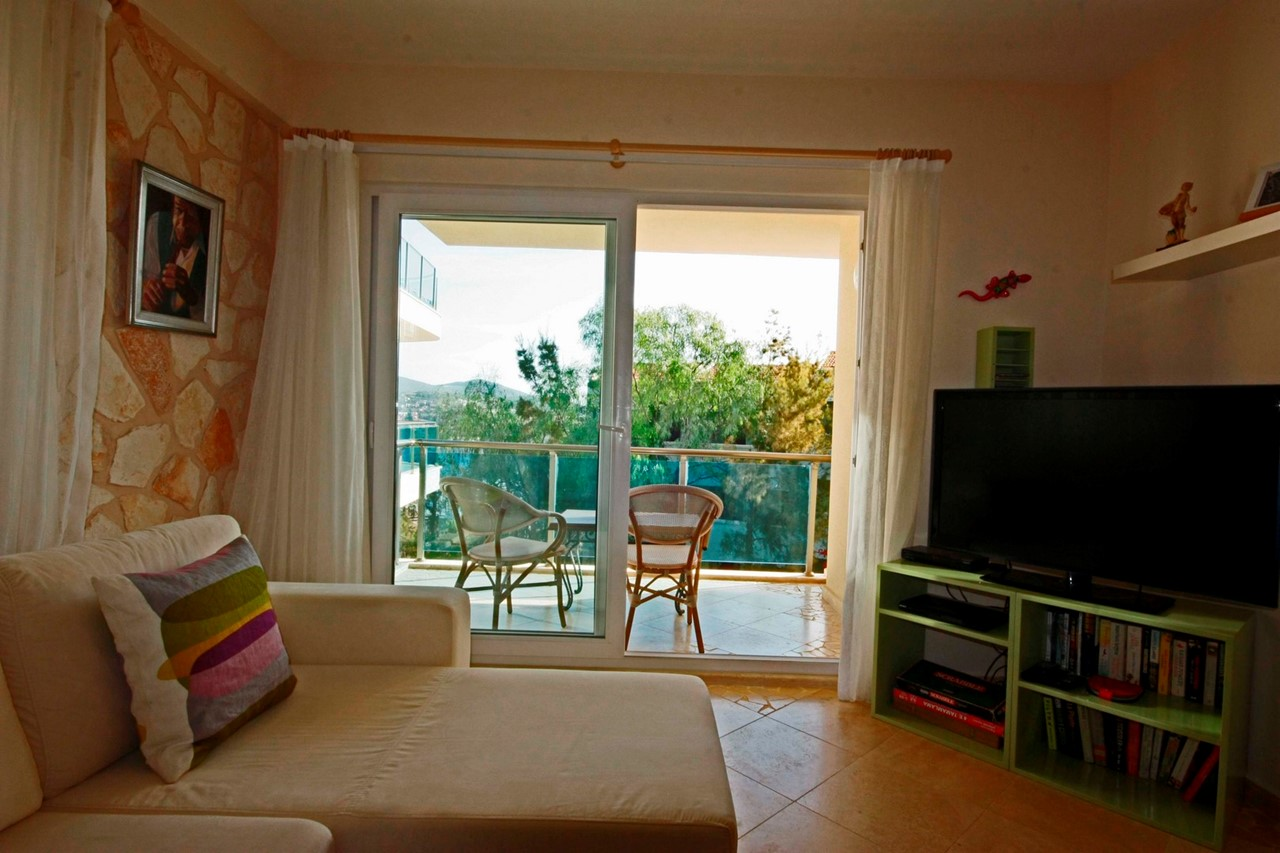 Fully Furnished Living Space With Access Onto Balcony