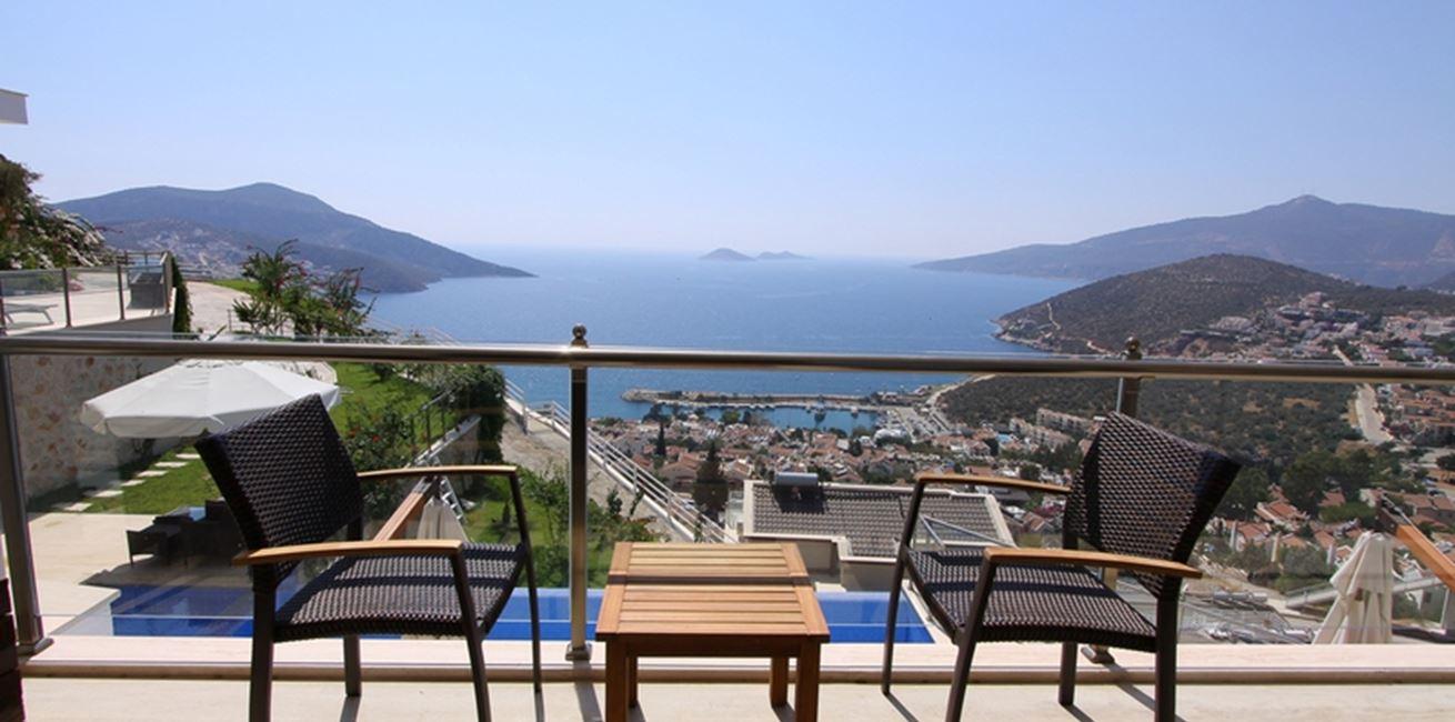 Views Over Kalkan Bay