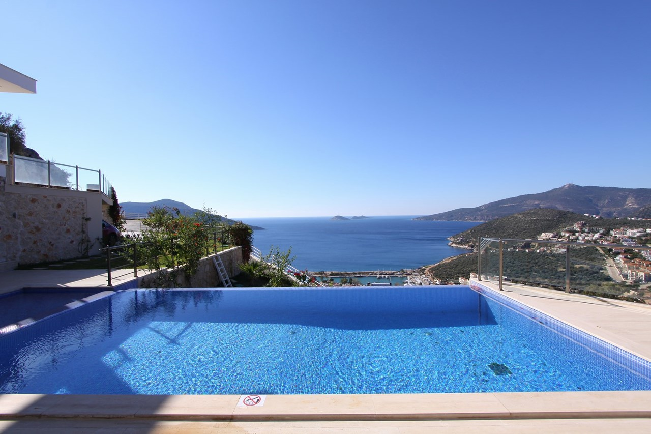 Infinity Pool With Harbour Views