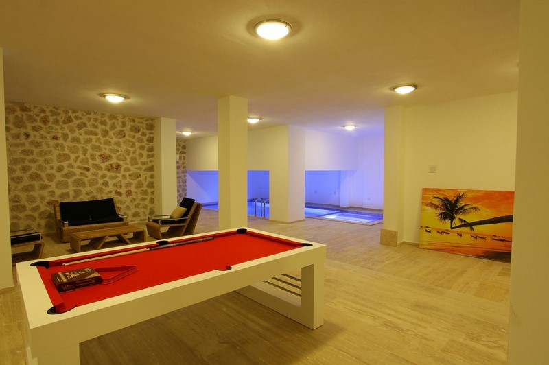 Games Area And Indoor Swimming Pool