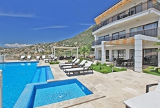 Falcon Lodge Pool And Terrace