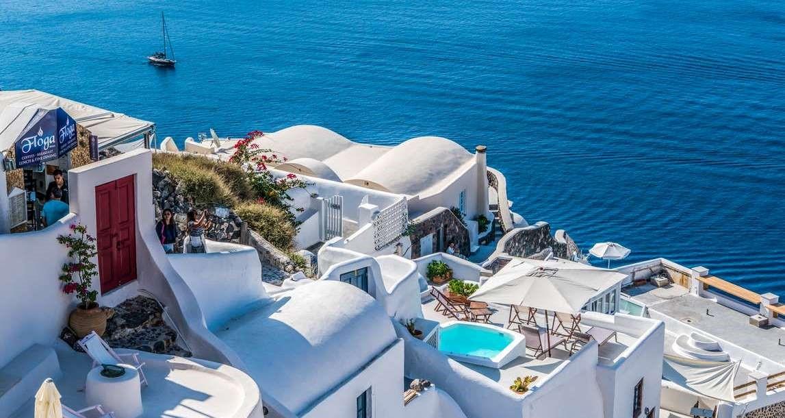Santorini Oia Greece Travel 163864