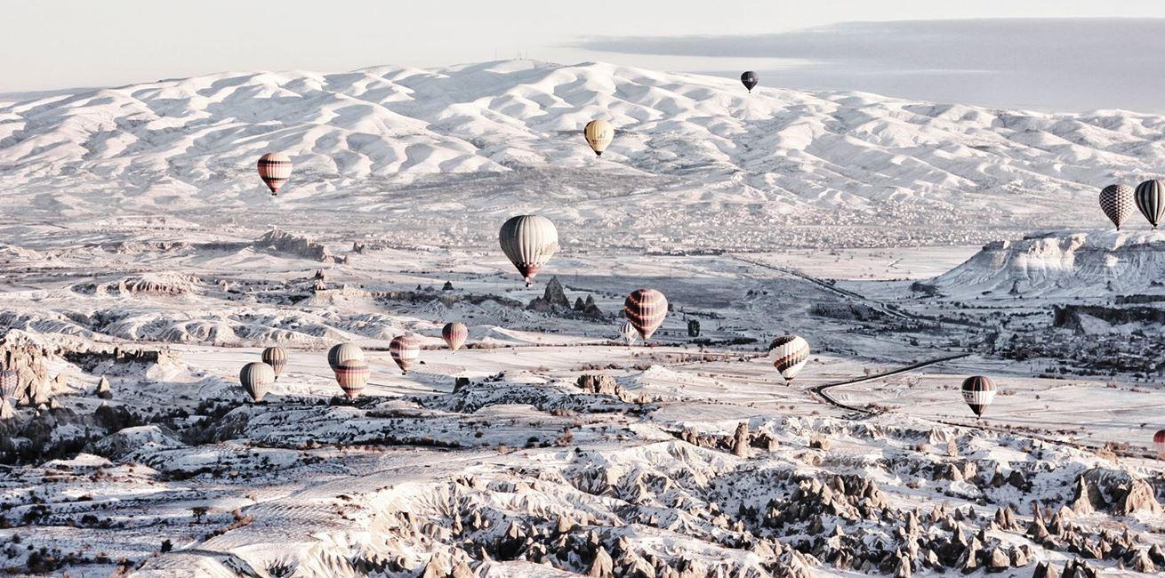 Capadoccia Snow
