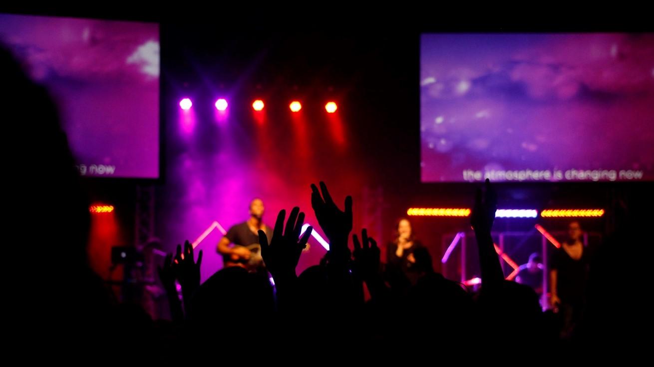 Silhouette Music Crowd Concert Audience Festival 19007 Pxherecom
