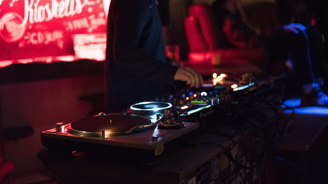 Record Music Dj Turn Table Stage Performance 1408971 Pxherecom