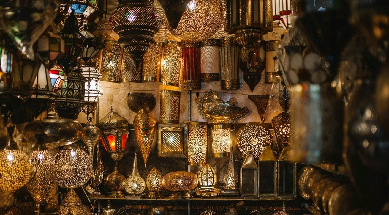 Light Night City Bazaar Market Lamp 92458 Pxherecom