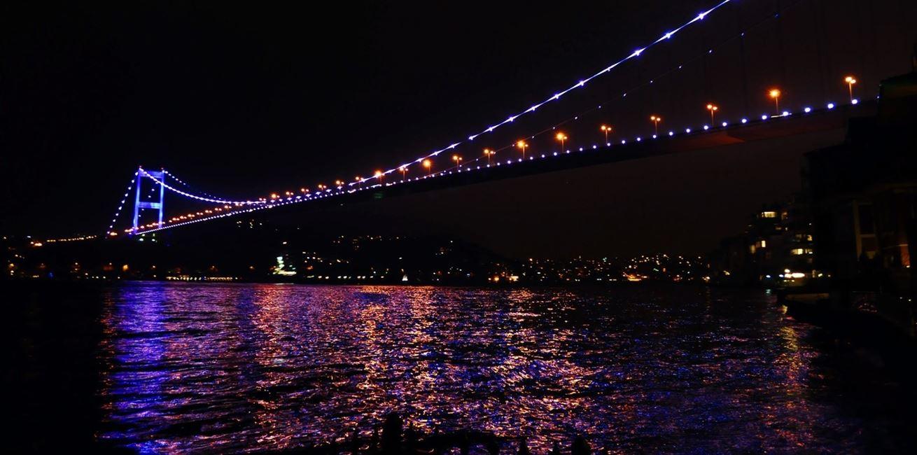 Nature Light Bridge Night Dusk Evening 908939 Pxherecom