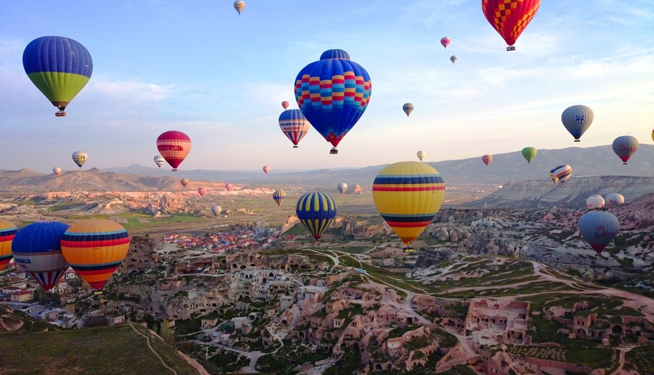 Landscape Balloon Hot Air Balloon Travel Aircraft Vehicle 719075 Pxherecom