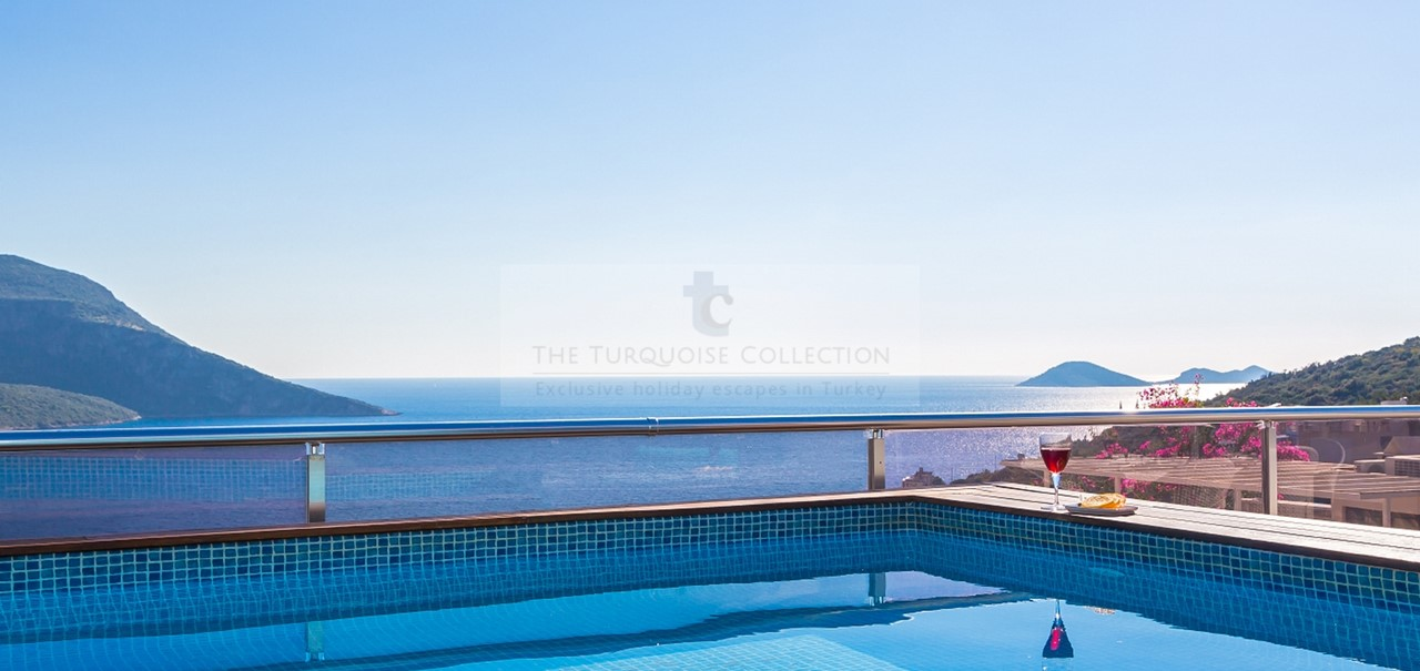 Incredible Views From The Private Plunge Pool