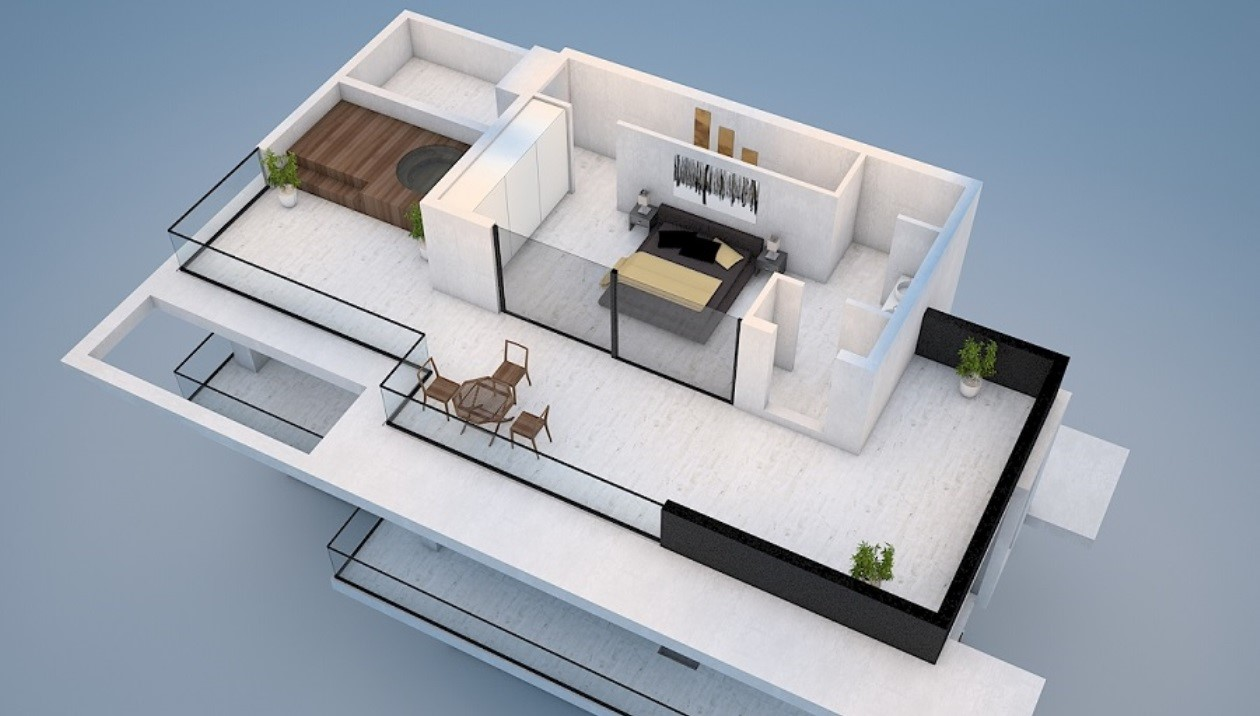 4 Bed Roof Floor 2