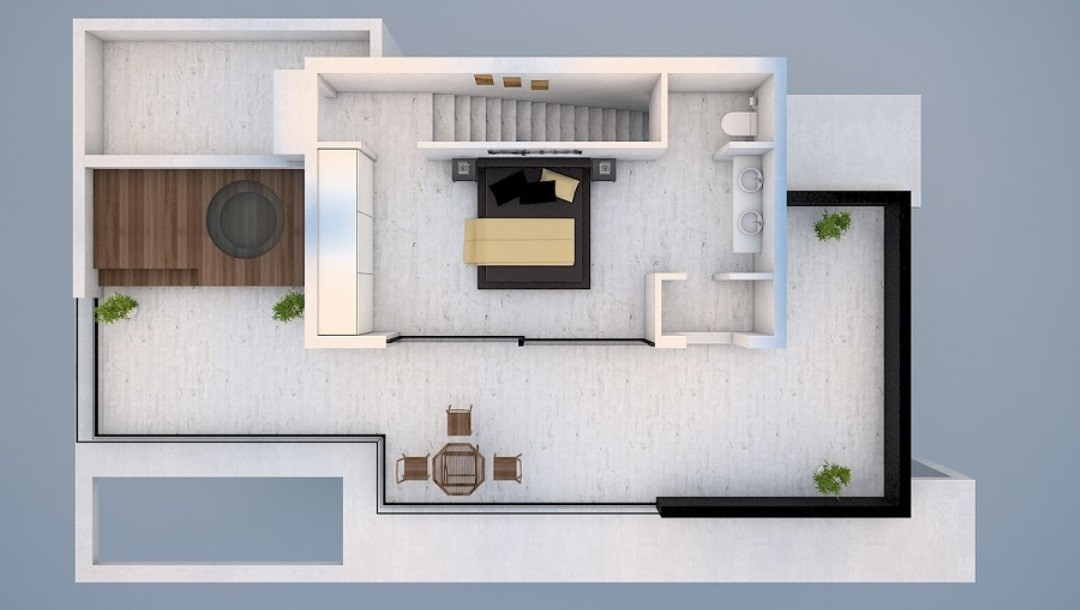 4 Bed Roof Floor